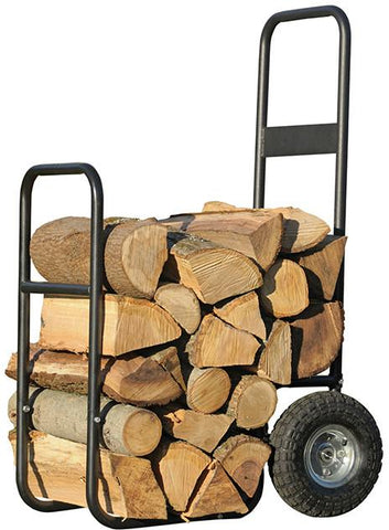 ShelterLogic 90490 Haul-It Wood Mover Rolling Firewood Cart - Peazz.com