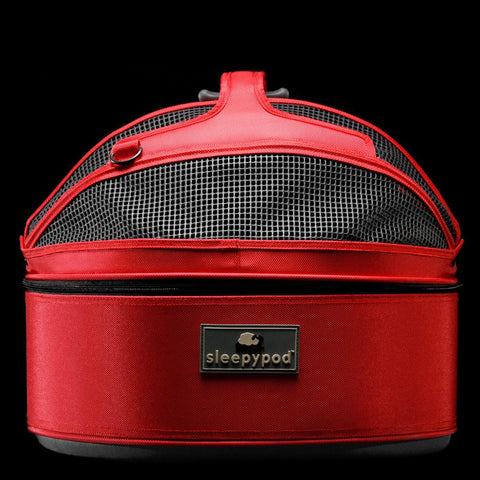Sleepypod SP-RED Mobile Pet Bed (Strawberry Red) Medium - Peazz.com