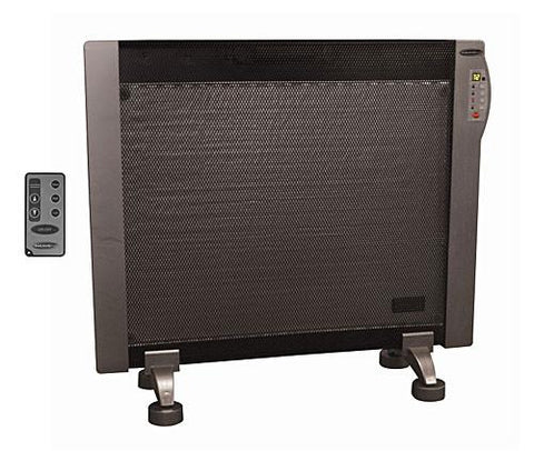 Soleus HGW-308R Floor/Wall Mounted Micathermic Heater w/ Remote - Peazz.com