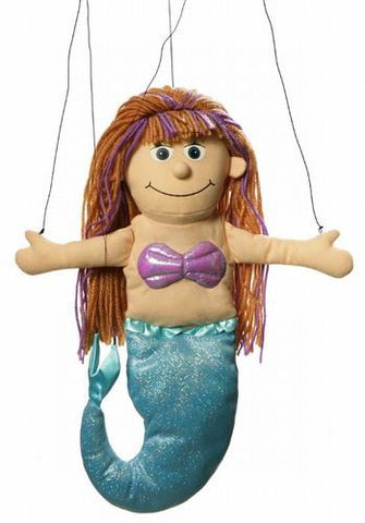 "24"" Mermaid Marionette - Peazz.com"