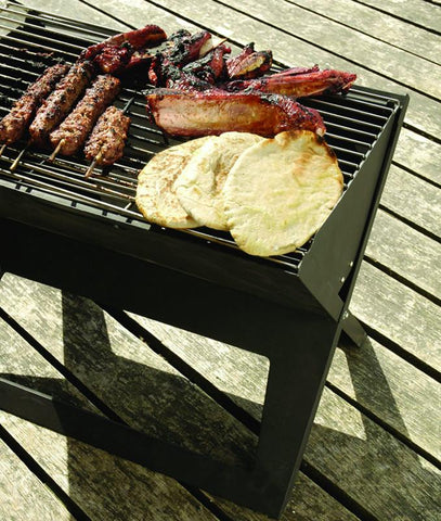 Well Traveled Living 60508 Notebook Charcoal Grill - Peazz.com