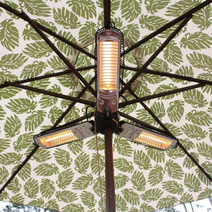 Well Traveled Living 60404 Umbrella Halogen Patio Heater