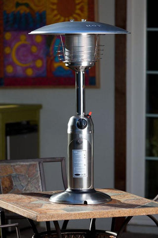 Well Traveled Living 60262 Stainless Steel Table Top Patio Heater - Peazz.com
