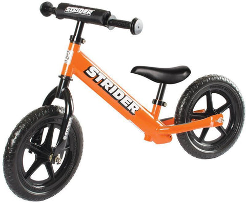 Strider ST-S4OR 12 Sport - ORANGE w/XL Seat Post and Saddle - Peazz.com