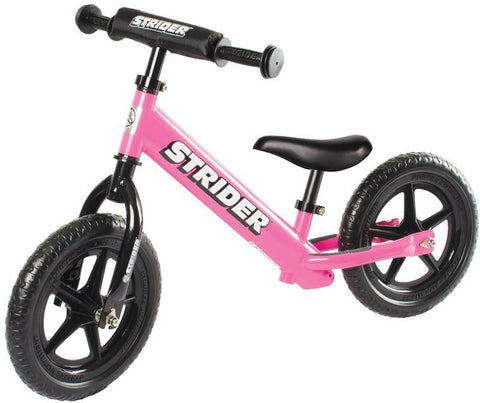 Strider ST-S4PK 12 Sport - PINK w/XL Seat Post and Saddle - Peazz.com