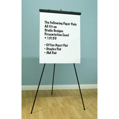 Studio Designs 13153 Presentation Easel / Black 1pc inner/ 4pc master - Peazz.com