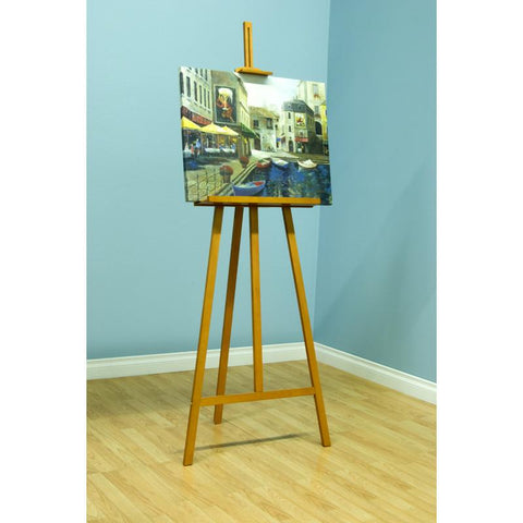 Studio Designs 13217 Museum Easel II / Natural 1pc inner / 4 pc master - Peazz.com