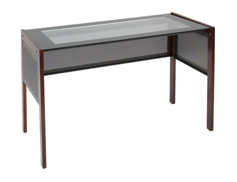 "Studio Designs 56001 Office Line 42"" Main Desk / Sonoma Brown - Peazz.com"
