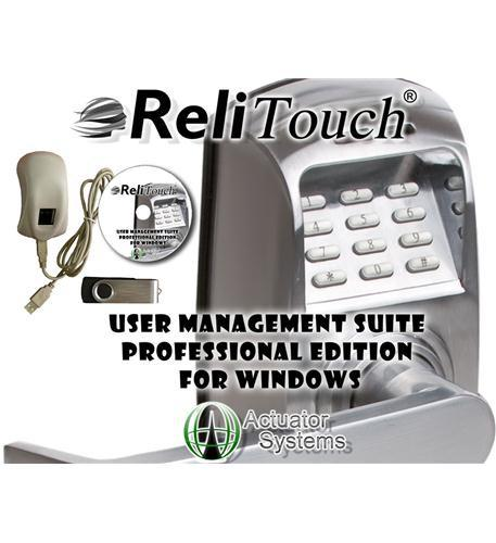Image of Actuator Systems ACT-UMSPRO-WIN ReliTouch User Management Suite-Windows
