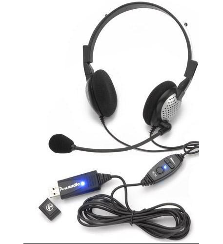 Image of Andrea Headsets AND-NC185VMUSB High Quality Digital Stereo USB Headset