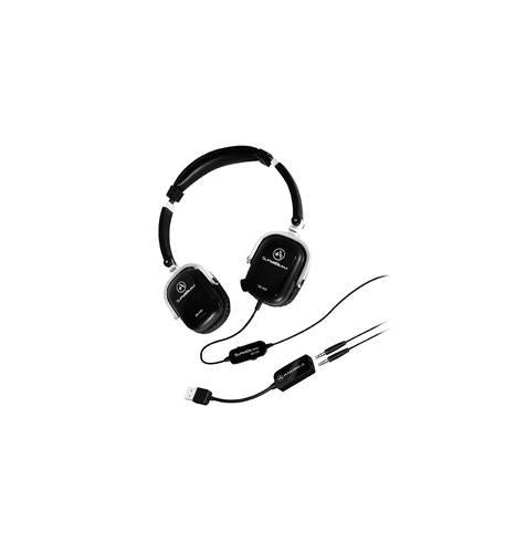 Image of Andrea Headsets AND-SB-405B SB-405 Black Both Ear Headset w/mics