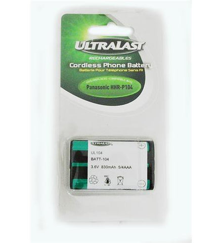 Dantona BATT-104 3.6V Battery for KX-TG2300's (hhr-p104) - Peazz.com