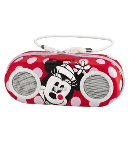 Kiddesigns EK-DM-M13 Minnie Water Resistant Portable Stereo - Peazz.com