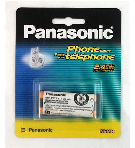 Panasonic Consumer HHR-P105A Battery for KX-TG2400 Series - Peazz.com