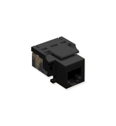 ICC ICC-CAT3JK-6-BK IC1076V0BK - Cat3 Jck 6Con. BLACK - Peazz.com
