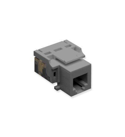 ICC ICC-CAT3JK-6-GY IC1076V0GY - Cat3 Jck 6Con. GRAY - Peazz.com