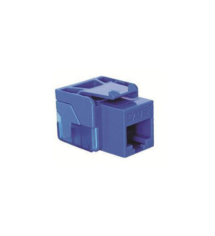 ICC ICC-CAT5JACK-BL IC1078E5BL - Cat5 Jck BLUE - Peazz.com