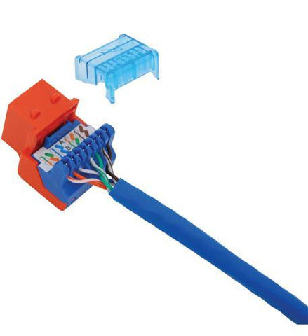 ICC ICC-CAT5JACK-OR IC1078E5OR - Cat5 Jck ORANGE - Peazz.com