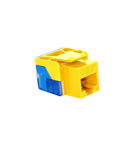 ICC ICC-CAT5JACK-YL IC1078E5YL - Cat5 Jck YELLOW - Peazz.com