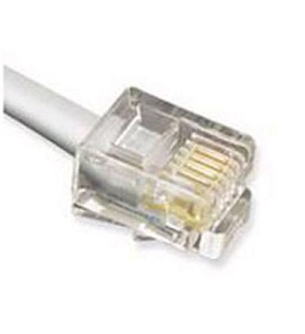 Cablesys ICC-ICLC650FSV GCLC666050  50' Flat Line Cord - Silver - Peazz.com