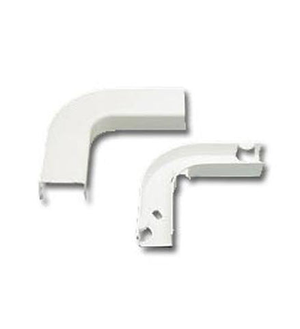 ICC ICC-ICRW13EBIV FLAT ELBOW AND BASE 1 3/4 IVORY 10PK - Peazz.com