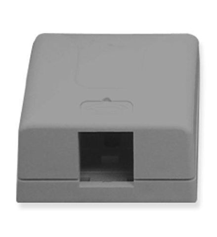 ICC ICC-SURFACE-1GR IC107SB1GY - SURFACE BOX 1PT Gray - Peazz.com