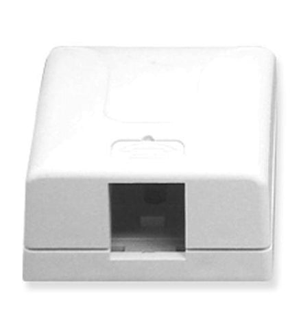 ICC ICC-SURFACE-1WH IC107SB1WH - SURFACE BOX 1PT White - Peazz.com