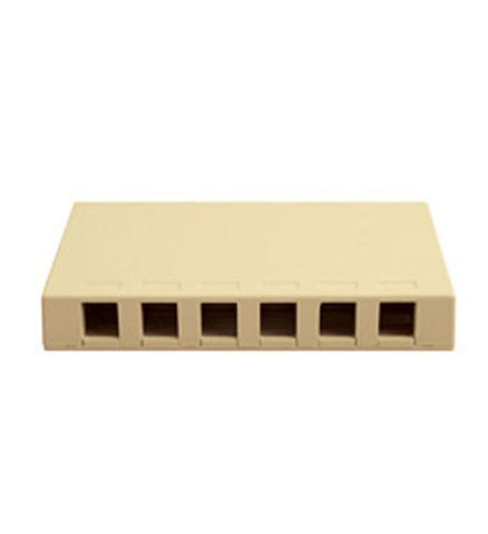 ICC ICC-SURFACE6IV IC107SB6IV- Surface Box 6 PT IVORY - Peazz.com
