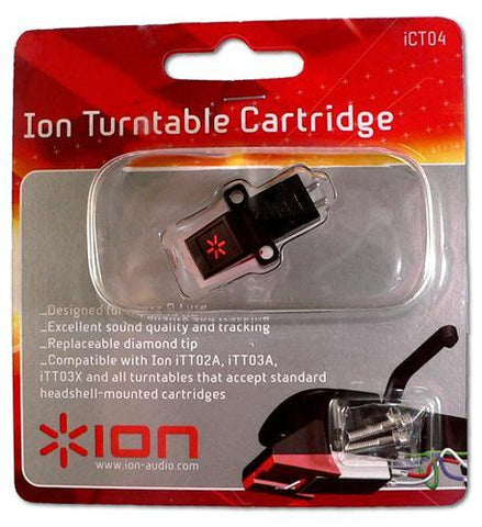 ION ION-ICT04 Turntable Cartridge Replacement - Peazz.com