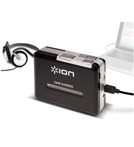 ION ION-TAPE-EXPRESS Portable Tape to MP3 Player - Peazz.com