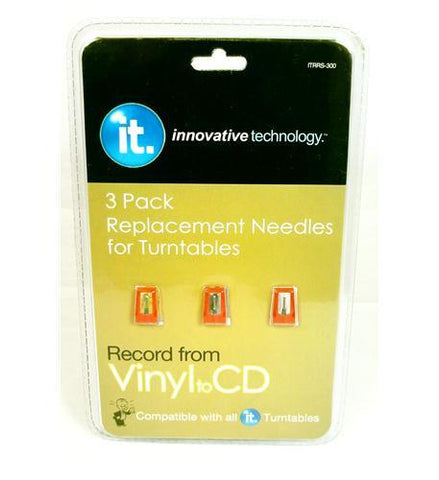 Innovative Technology ITRRS-300 (3) pack needles for ITVS-750 - Peazz.com