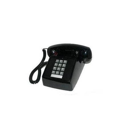 Cortelco ITT-2500-27M-BK 250000-VBA-27M Desk w/ Message - Black - Peazz.com