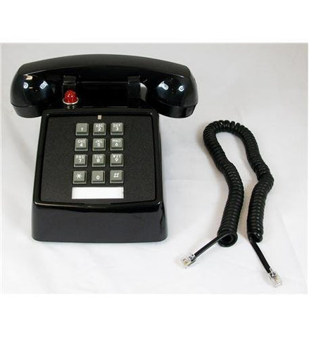 Cortelco ITT-2500-57MD-BK 250000VBA-57MD Desk, Message Waiting, - Peazz.com