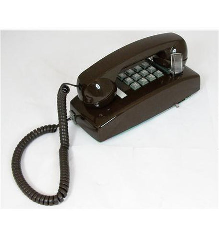 Cortelco ITT-2554-V-BR 255445-VBA-20M Wall w/ Volume - Brown - Peazz.com