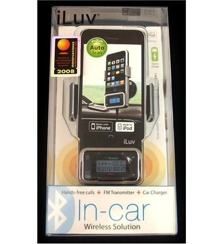 JWIN JV-I-730 Bluetooth Car Kit w/ FM Transmitter - Peazz.com