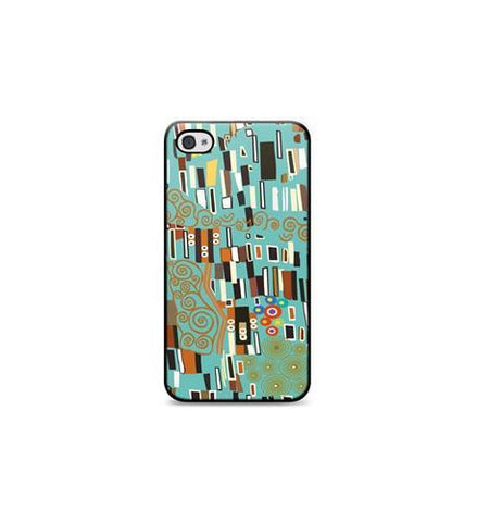 JWIN JV-iCC759TEL Klimt, Chic Hardshell iPhone 4 Case Teal - Peazz.com