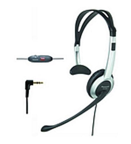 Panasonic Consumer KX-TCA430 Panasonic Foldable Over the Head Headset - Peazz.com