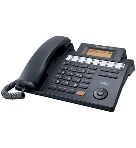 Panasonic Consumer KX-TS4100B 4-Line Speakerphone BLACK - Peazz.com