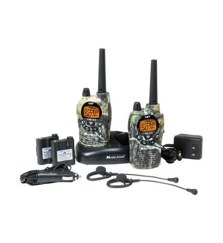 MIDLAND RADIO MID-GXT1050VP4 MOSSY OAK 50 CHL./3O MILE 2-WAY RADIO - Peazz.com