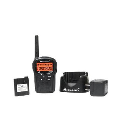MIDLAND RADIO MID-HH54VP2 SAME hand held radio w/accessories - Peazz.com