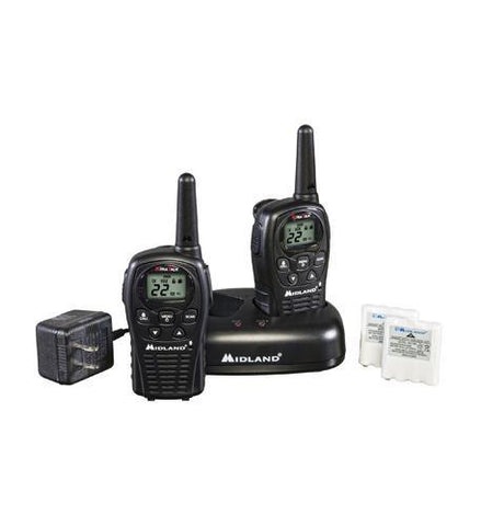 MIDLAND RADIO MID-LXT500VP3 GMRS 2-Way Radio (Up to 24 miles) - Peazz.com