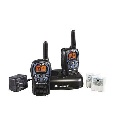 MIDLAND RADIO MID-LXT600VP3 GMRS 2-Way Radio (Up to 26 miles) - Peazz.com
