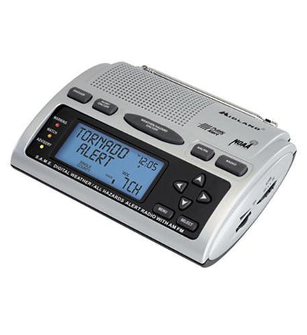 MIDLAND RADIO MID-WR-300 S.A.M.E. Weather Radio - Peazz.com