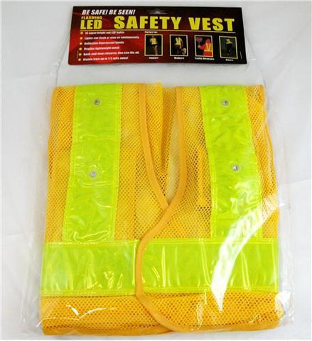 MAXSA Innovations MXS-20026 Reflective Safety Vest with 16 LED Light - Peazz.com