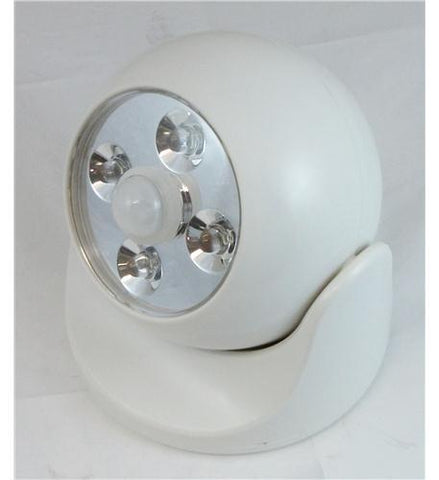 MAXSA Innovations MXS-40241 Battery Powered Motion Light - WHITE - Peazz.com