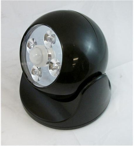 MAXSA Innovations MXS-40242 Battery Powered Motion Light - BLACK - Peazz.com