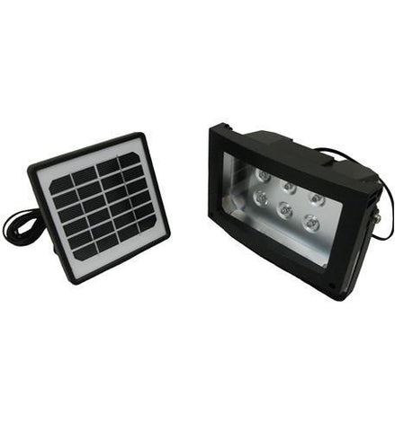 MAXSA Innovations MXS-40330 Maxsa Solar-Powered 8 Hour Floodlight - Peazz.com