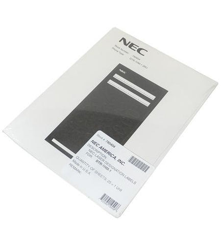NEC DSX Systems NEC-780404 Desi Labels for Analog 780026 - Peazz.com