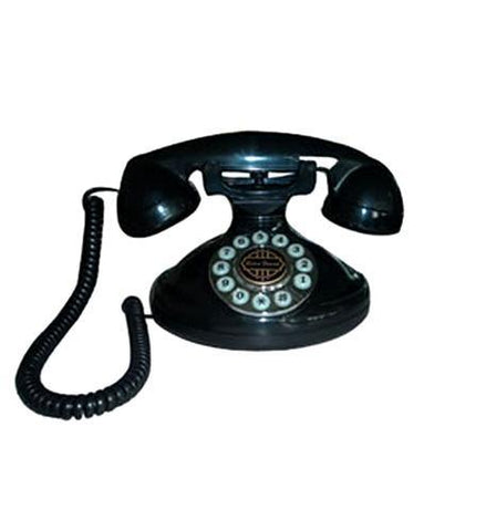 Paramount PMT-CHRISTIE-BK Christie 1921A Decorator Phone BLACK - Peazz.com