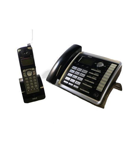 Telefield N.A. RCA-25255RE2 2-Line Corded/Cordless Speakerphone - Peazz.com